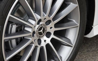 Mercedes Wheel Inspection