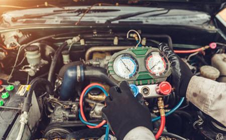 BMW AC System Servicing