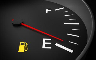 Porsche Empty Fuel Tank