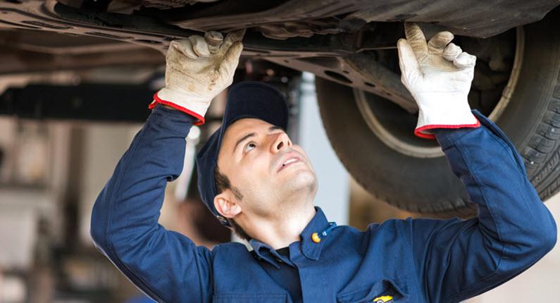 Mercedes Transmission Fluid Leak Check