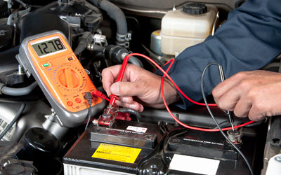 BMW Battery Inspection