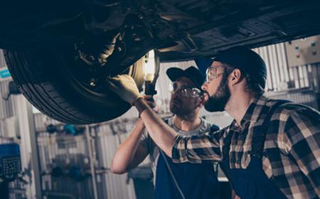 Mercedes Air Suspension Inspection